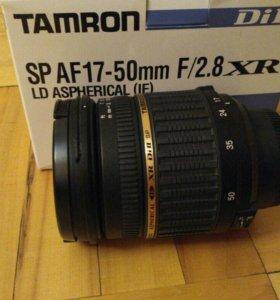 Tamron 17-50mm f/2.8 для nikon
