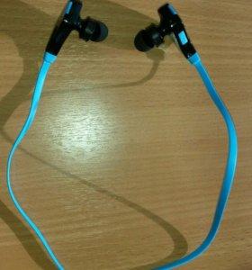 Беспроводные наушники гарнитура Bluetooth