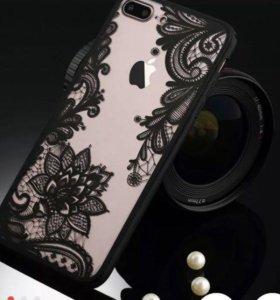 Чехол для IPhone 7 в упаковке новый