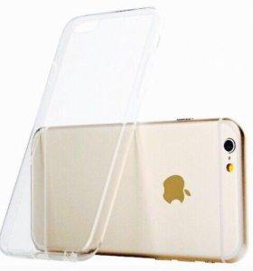 Силиконовые чехлы для IPhone 6,6s