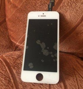 Дисплей Айфон 5s