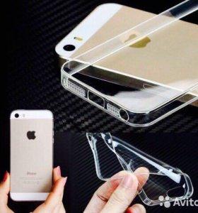 Силиконовые чехлы для IPhone 5,5c,5s,5se