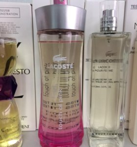 Тестер Lacoste Touch of Pink 90 ml