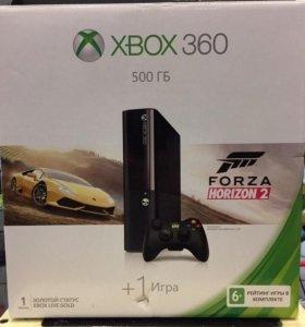 Игровая приставка Microsoft Xbox 360 E 500GB.