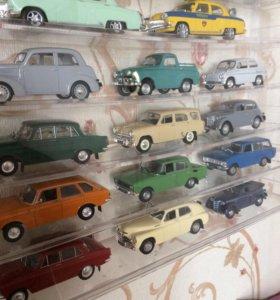 Коллекционные модели от Деагостини.