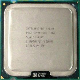 Intel 775, 2 ядра, dual-core 2160