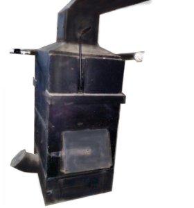 Твердотопливный котел отопления