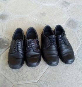 Туфли муж. из качественной натур. кожи