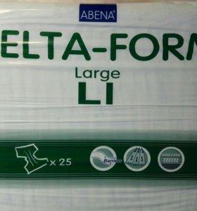 Памперсы для взрослых, размер L1/25шт