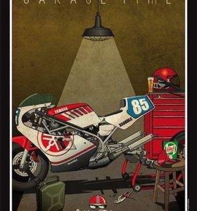 Ремонт и обслуживание мотоциклов, скутеров и квадр