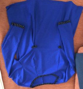 Трикотажная блуза д/ беременных