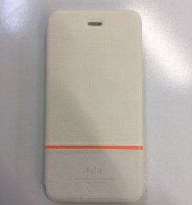 Чехол книжка для iPhone 6 Plus кожа