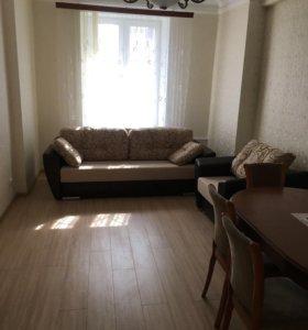 Квартира, 1 комната, 48.6 м²