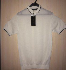 Новая мужская футболка-поло ZARA MAN