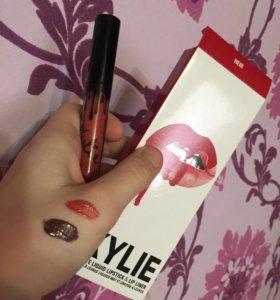 Помада + карандаш для губ Kylie