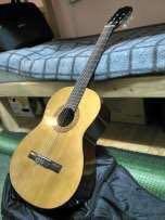 Гитара классика новая ханер.