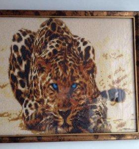 Вышитые картины бисером и мозайка