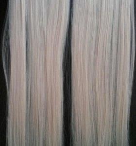 Накладные волосы 60см
