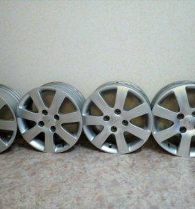 Литые диски r16 4/114.3