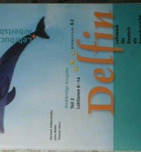 Учебник немецкого по углубленной программе Delfin