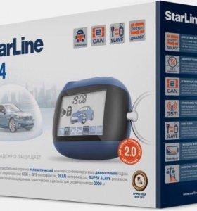 Двухсторонняя связь. StarLine B64