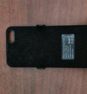 Чехол , дополнительный аккумулятор для айфон 5 5s