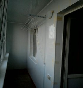 Обшивка лоджий и балконов.
