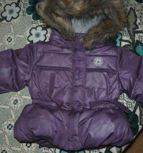 Куртка Теплая зима-холодная осень с 3 до 6 месяцев