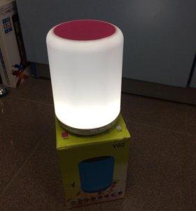 Колонка светильник