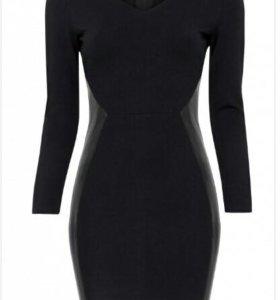 Черное платье фирмы oodji