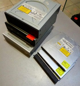 Приводы на системник и ноутбук