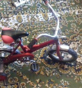 Детский велосипед 3-4 года