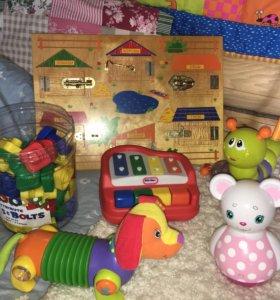 Набор игрушек бизиборд
