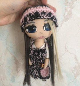 Кукла брелок