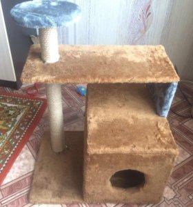 Продам или Обменяю НОВЫЙ кошачий домик