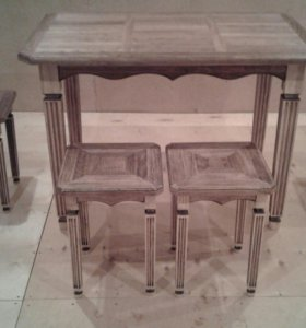 Стол кухонный с табуретам