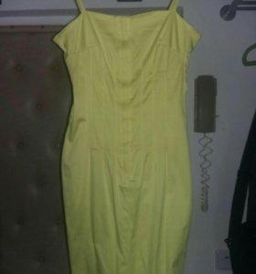 Маленькое желтое платье