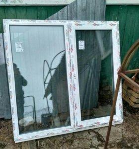 Окно 1500*1300 новое готовое 5 штук
