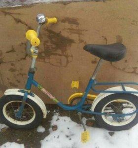 Детский велосипед Мишка