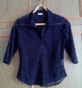 Гипюровая блузка. 42-44 р.