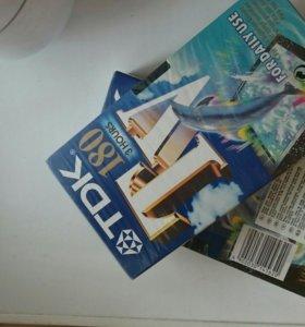 Кассеты VHS TDK 180 3 hours