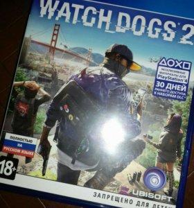 Игра Watch Dogs 2 на ПС4
