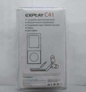 Плеер Explay C41 4GB (новый)