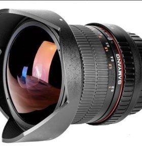 Samyang 8mm f/3,5 cs ll Fish-eye