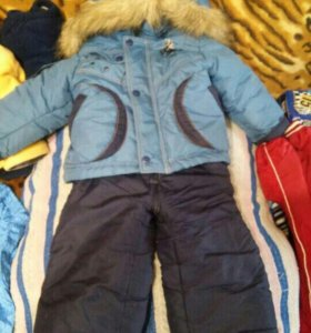 Теплый костюм, зимний