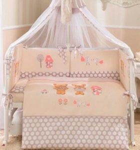 Комплект постельного белья в кроватку Perina