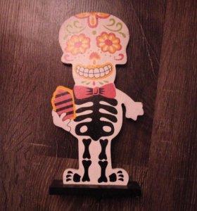 Декорация скелет