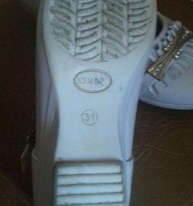 Туфли на девочку 31 размер