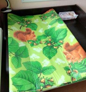 Пеленальная доска на комод и кроватку