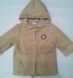 Курточка для девочки на 1-2 года